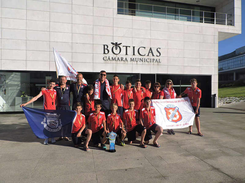 GD Boticas 3º classificado na Guadiana Cup